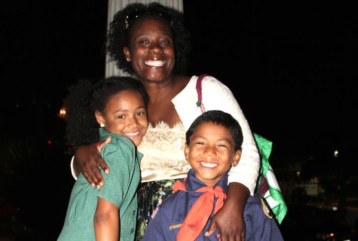naomi and family