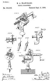 Helen Blanchard patent