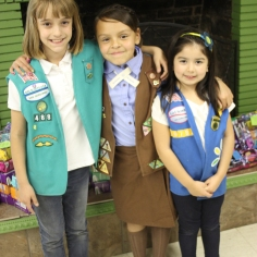 Girl Scouts of all ages will benefit.