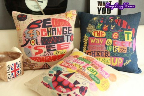 Inspiration in pillow form.