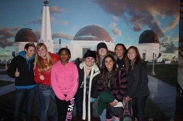 """Last year, girls explored the sights and sounds of the """"City of Angels"""" known as Los Angeles!"""