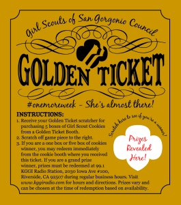 Golden Ticket - generic front