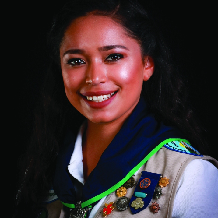 Courtney Gaba, 2016 Girl Scout of the Year