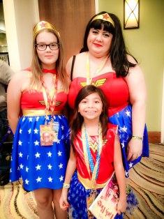 Wonder Woman fans!